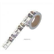 マスキングテープ / シブヤ・ディビジョン VS シンジュク・ディビジョン グラフアート