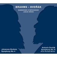 ブラームス:交響曲第4番、ドヴォルザーク:交響曲第9番『新世界より』 ヤクブ・フルシャ&バンベルク交響楽団(2SACD)