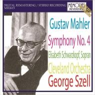 交響曲第4番 ジョージ・セル&クリーヴランド管弦楽団、エリーザベト・シュヴァルツコップ(1968年ステレオ・ライヴ)