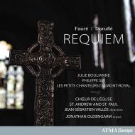 フォーレ:レクィエム、デュリュフレ:レクィエム ジャン=セバスチャン・ヴァレ&聖アンデレ&パウロ教会合唱団、ジョナサン・オルデンガーム(オルガン)、他