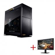 GAMEMASTER GMBC505 デスクトップPC+24インチモニター(Acer KG240bmiix)セット【購入特典GALLERIAマウスパッド付き】