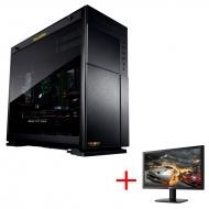 GAMEMASTER GXBC70R8 デスクトップPC+24インチモニター(Acer KG240bmiix)セット【購入特典GALLERIAマウスパッド付き】