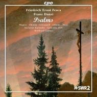フェスカ:詩篇集、ダンツィ:詩篇128番、他 ベルンハルト・ゲルトナー&カールスルーエ・バッハ合唱団、カメラータ2000