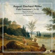 フルート協奏曲第1番、第3番、第10番 タチアナ・ルーラント、ティーモ・ハンドシュ&南西ドイツ室内管弦楽団
