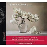 Piano Concerto, 9, 12, : Bacchetti(P)Luisi / Teatro Carlo Felice O