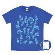 ドラゴンクエストビルダーズ2 Tシャツ(ブルー) サイズM
