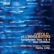 交響曲第1番、第4番、ヴェネツィアのゲーム ハンヌ・リントゥ&フィンランド放送交響楽団