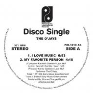 I Love Music (12インチシングルレコード)