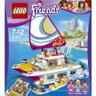 LEGO 41317 フレンズ ハートレイク ワクワクオーシャンクルーズ