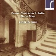 フォーレ:ピアノ三重奏曲、ショーソン:ピアノ三重奏曲、サティ:メドゥーサの罠 フィデリオ・トリオ