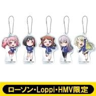 クリアキーホルダー5個セット / ガルパ☆ピコ【ローソン・Loppi・HMV限定】