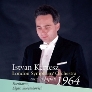Shostakovich Symphony No.5, Beethoven Egmont Overture, Elgar Introduction and Allegro : Istvan Kertesz / London Symphony Orchestra (1964 Tokyo Stereo)