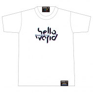 hello world ロゴTシャツ White [XL]