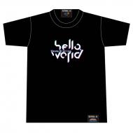 hello world ロゴTシャツ Black [L]