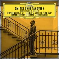 交響曲第7番『レニングラード』、第6番、祝典序曲、『リア王』組曲 アンドリス・ネルソンス&ボストン交響楽団(2CD)