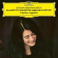 トッカータ、パルティータ第2番、イギリス組曲第2番:マルタ・アルゲリッチ(ピアノ) (アナログレコード/Deutsche Grammophon)
