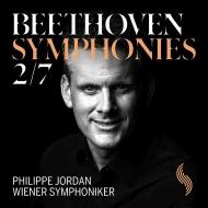 交響曲第7番、第2番 フィリップ・ジョルダン&ウィーン交響楽団