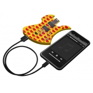 hide MODEL GUITAR(YELLOW HEART ver.) PLAYERS MOBILE BATTERY CHARGER