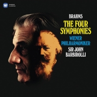 交響曲全集:ジョン・バルビローリ指揮&ウィーン・フィルハーモニー管弦楽団 (4枚組/180グラム重量盤レコード/Warner Classics)