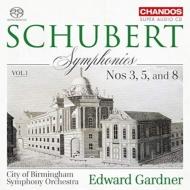 交響曲第8番『未完成』、第5番、第3番 エドワード・ガードナー&バーミンガム市交響楽団