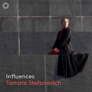 『影響〜アイヴズ:ソナタ第1番、バルトーク:ハンガリー農民の歌による即興曲、メシアン:カンテヨジャーヤ、バッハ』 タマラ・ステファノヴィチ