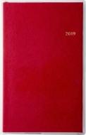 高橋 手帳 2019年 4月始まり T'beau(ティーズビュー)インデックス5 手帳判 ディープレッド No.655