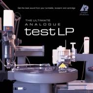 Ultimate Analogue Test LP (Turntable Set Up Tools) (高音質盤/200グラム重量盤レコード/Analogue Productions)※こちらは音楽ではなくセットアップツールとなります。