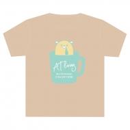 よだれむしロゴTシャツ(M)/ AT living [2回目]