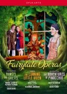 ヘンデルとグレーテル(コリン・デイヴィス指揮)、利口な女狐の物語(ヴラディーミル・ユロフスキー指揮)、ピノキオの冒険(デイヴィッド・パリー指揮)(5DVD)