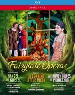ヘンデルとグレーテル(コリン・デイヴィス指揮)、利口な女狐の物語(ヴラディーミル・ユロフスキー指揮)、ピノキオの冒険(デイヴィッド・パリー指揮)(3BD)
