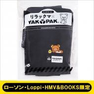 リラックマ×YAK PAK SHOULDER BAG BOOK BLACK ver.