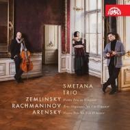 『ピアノ三重奏曲集〜ツェムリンスキー、ラフマニノフ、アレンスキー』 スメタナ・トリオ