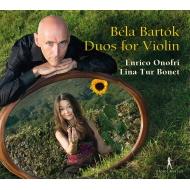 バルトーク:44の二重奏曲、ヴィヴァルディ:2つのヴァイオリンのためのソナタ エンリコ・オノフリ、リナ・トゥール・ボネ