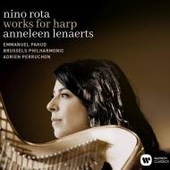 ハープ協奏曲、フルートとハープのためのソナタ、他 アンネレーン・レナエルツ、エマニュエル・パユ、アドリアン・ペルション&ブリュッセル・フィル