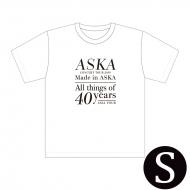 『Made in ASKA』 Tシャツ WHITE Sサイズ