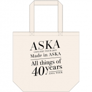 『Made in ASKA』 トートバッグ WHITE
