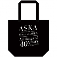 『Made in ASKA』 トートバッグ BLACK