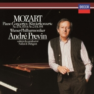 ピアノ協奏曲第24番、第17番 アンドレ・プレヴィン、ウィーン・フィル