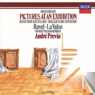 ムソルグスキー:展覧会の絵、ラヴェル:ラ・ヴァルス アンドレ・プレヴィン&ウィーン・フィル