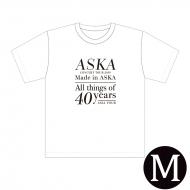 『Made in ASKA』 Tシャツ WHITE Mサイズ
