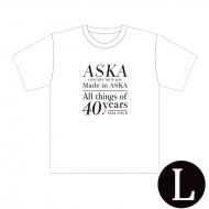 『Made in ASKA』 Tシャツ WHITE Lサイズ