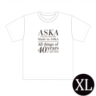 『Made in ASKA』 Tシャツ WHITE XLサイズ