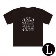 『Made in ASKA』 Tシャツ BLACK Lサイズ