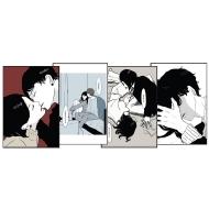 ポストカード 4枚セット(ますだみく) / 「聴く」妄想イラストレーター展