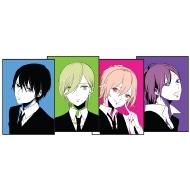 ポストカード 4枚セット(ヒメユリ) / 「聴く」妄想イラストレーター展