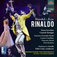 『リナルド』ナポリ版全曲 ファビオ・ルイージ&ラ・シンティッラ、イェヴォリーノ、レミージョ、他(2018 ステレオ)(3CD)