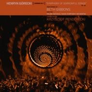 交響曲第3番「悲歌の交響曲」:ベス・ギボンズ (from Portishead)(歌)、クシシュトフ・ペンデレツキ指揮&ポーランド国立放送交響楽団 (アナログレコード/Domino)
