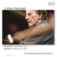 ブルックナー:交響曲第9番、ハイドン:交響曲第88番『V字』 ローター・ツァグロゼク&ベルリン・コンツェルトハウス管弦楽団