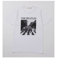 Abbey Road Cover Tee White S