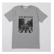 Abbey Road Cover Tee Grey L